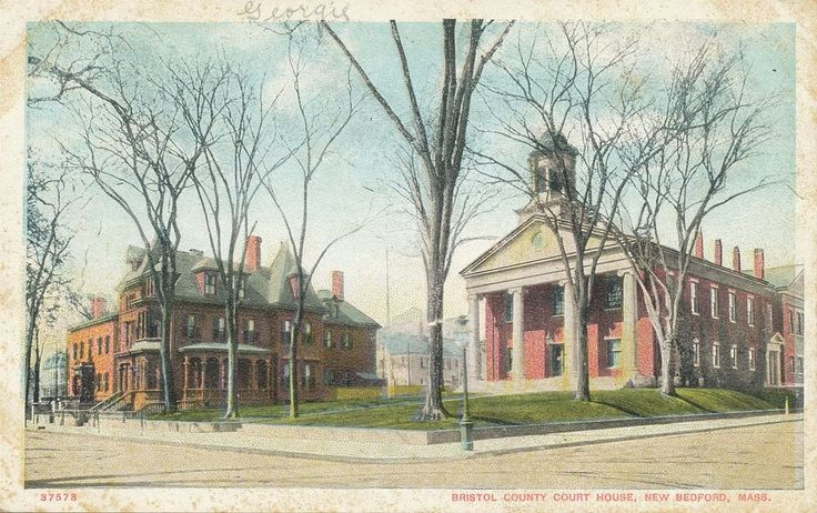 New Bedford MA Bristol County Court House 1916   | eBay