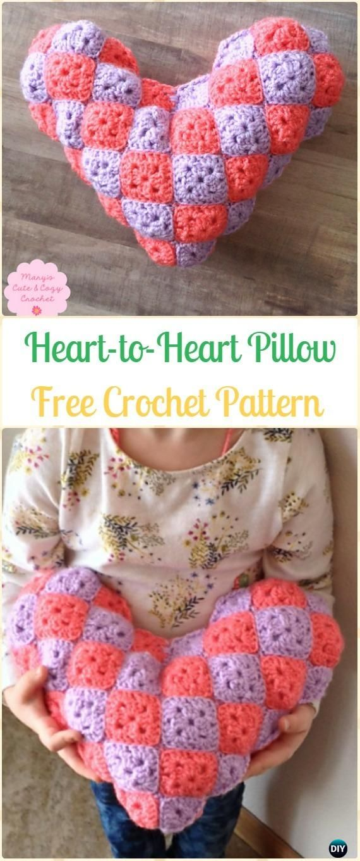 20 Amigurumi Crochet 3d Heart Free Patterns Perfect Valentine Gift