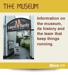 Laurel & Hardy museum in Ulverston - day out on the train?