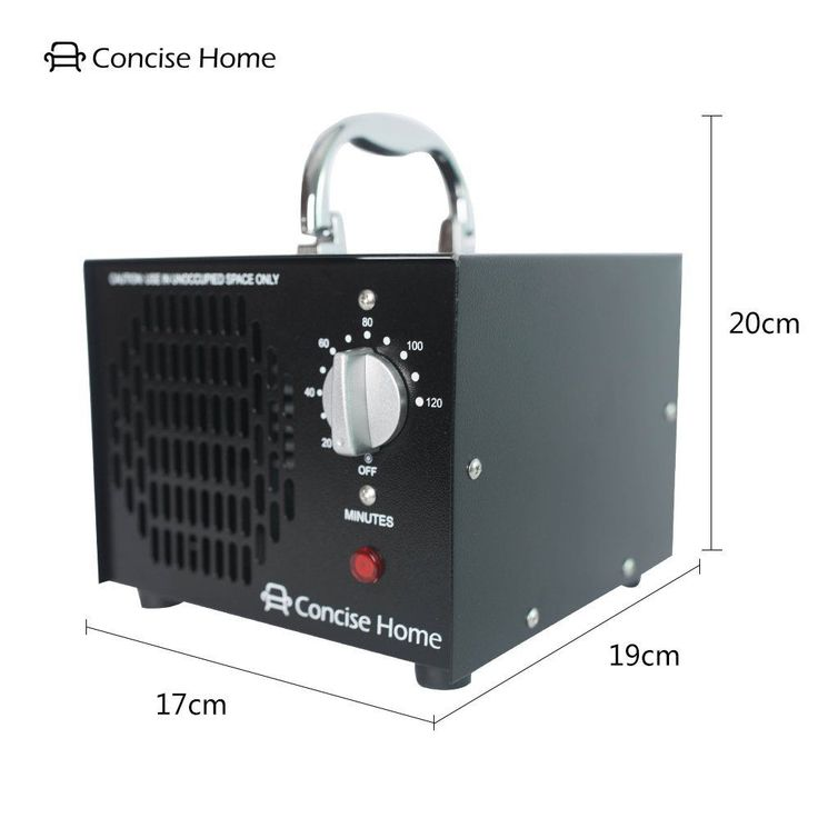 Commercial Ozone Generator Air Purifier Deodorizer Dual O3 Eliminate Mold Smoke #CleanHome
