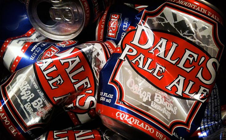 dale's pale ale - yes good beer does come in a can and it's damn tasty