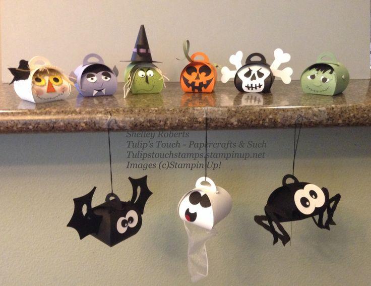 Curvy Keepsake Box Halloween characters