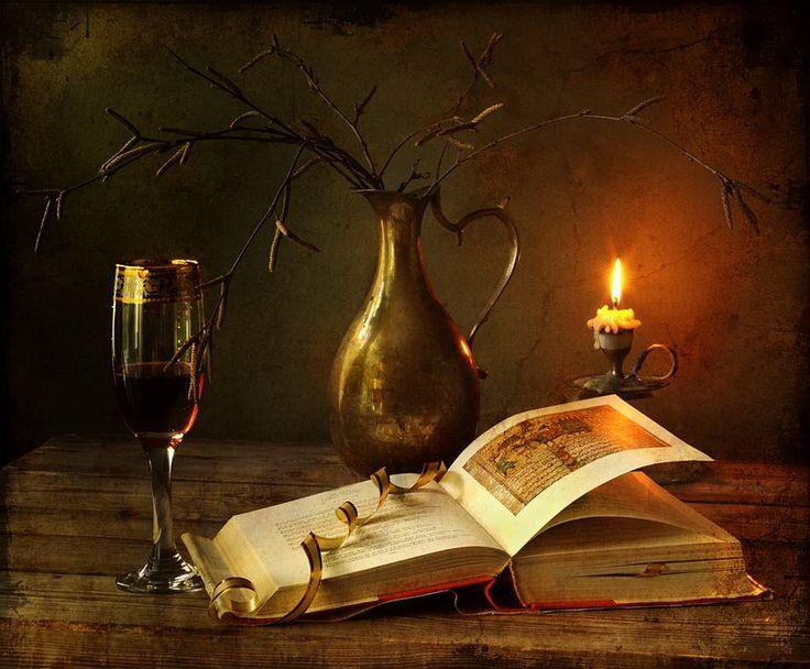 Прикольные акция, свеча книга открытка