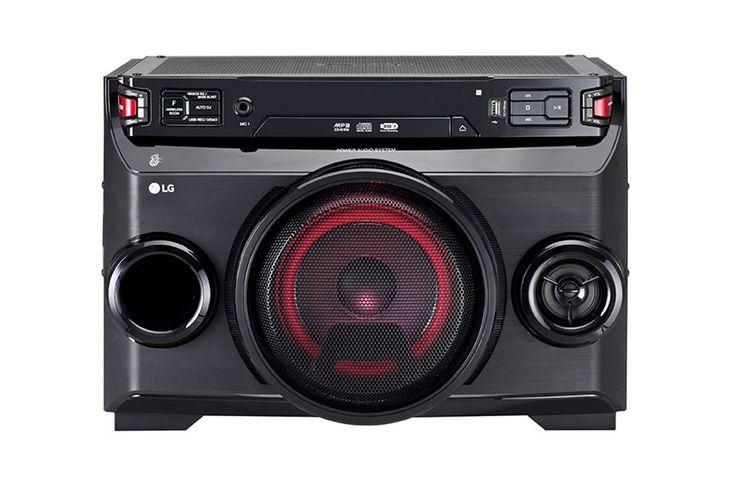 LG OM4560  Description: LG LOUDR OM4560: 220 Watt Hifi systeem Als er ergens een feestje is is de LG LOUDR OM4560 onmisbaar. Deze krachtige luidspreker beschikt over een aantal functies waardoor jouw avond een gezellig feestsucces wordt. Dankzij Auto DJ vloeit elk nummer naadloos in elkaar over en je kunt draadloos jouw favoriete muziek streamen door middel van Bluetooth. Ook kun je de LG LOUDR OM4560 bedienen via de handige Remote app van LG. Nodig al jouw vrienden uit en ga lekker uit je…