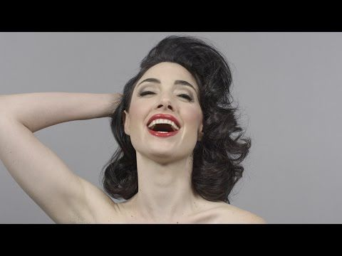 100 Years of Beauty in 1 Minute - YouTube