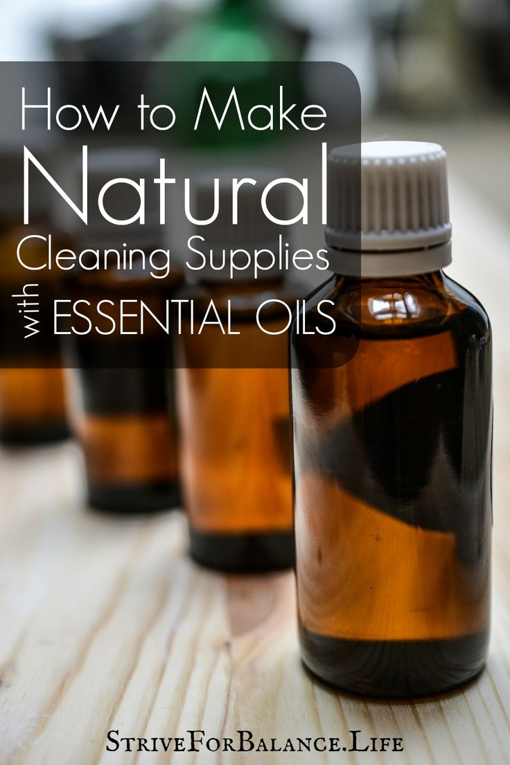 How to Make Natural Cleaning Supplies with Essential Oils