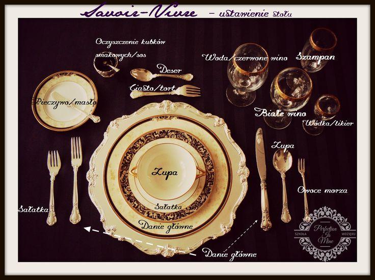 Savoir-vivre przy stole, ustawienie stołu, pomocne na wesele, przyjęcie, imprezy okolicznościowe.  #savoirvivre #wesele #weselnyklimat #etykieta #bonton