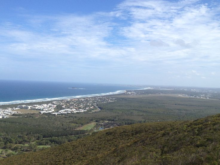 Mt Coolum  looking towards Maroochydore QLD Australia