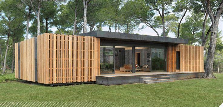 Maison 150m aix en provence popup house maisons en for Architecte maison container