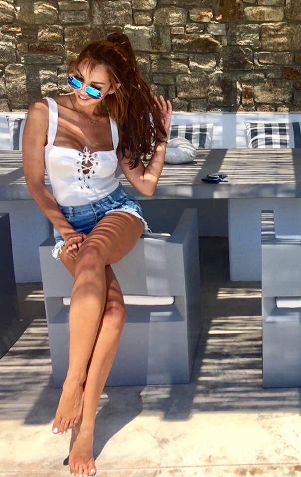Jean shorts & cord body 🐠