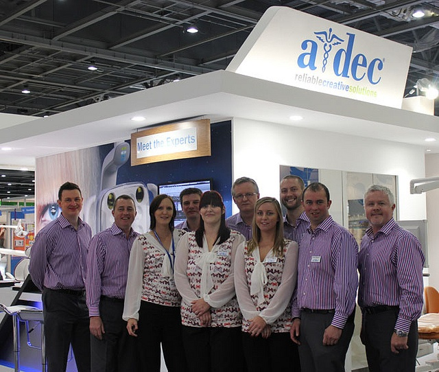 The lovely team A-dec