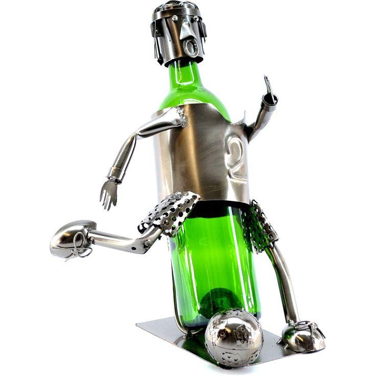 Soccer Player Wine Bottle Holder