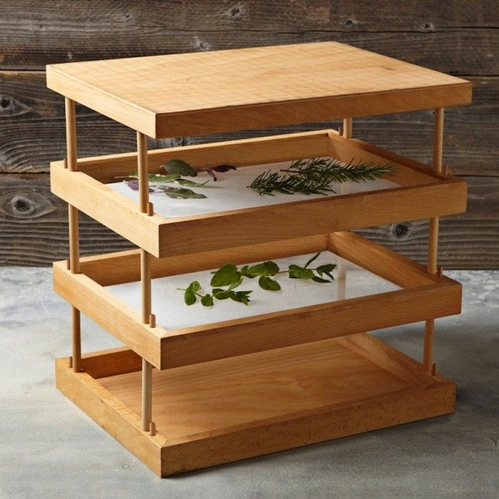 Wooden Herb Drying Rack, Gardenista