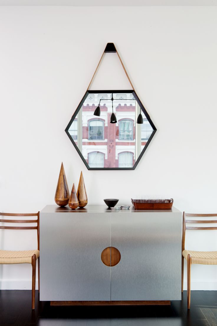 80 best images about hexagon love on pinterest hexagons for Small hanging mirror