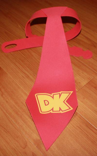 Donkey Kong Tie for Dan on Halloween