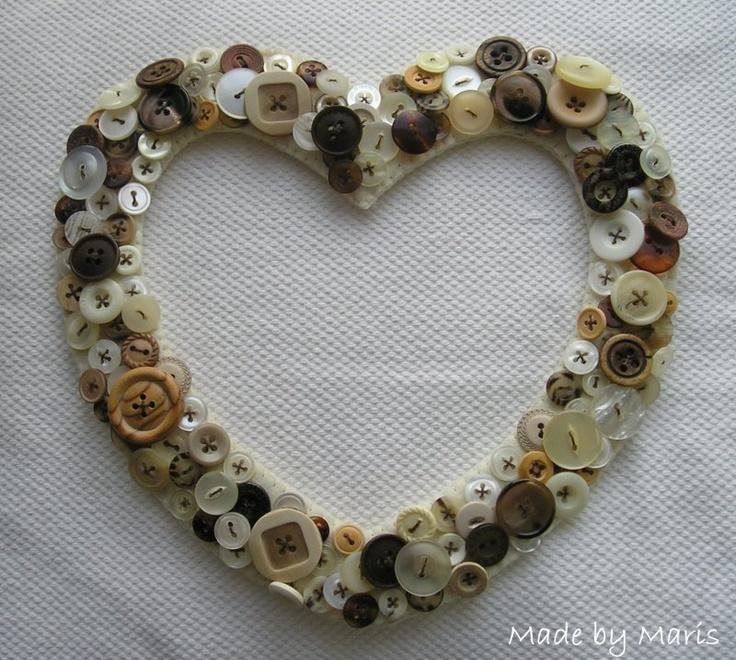 Made by Maris: -:: Harten met knopen ::-