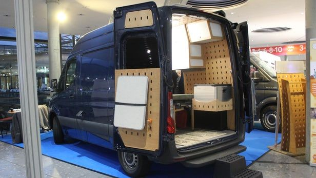 Cargo Camper Uses Oversized Pegboard To Create Ultra Versatile