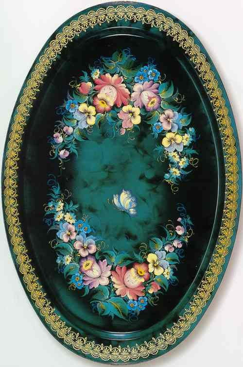 """Рябинина О.А. """"Голубые цветы"""". 1990 г."""