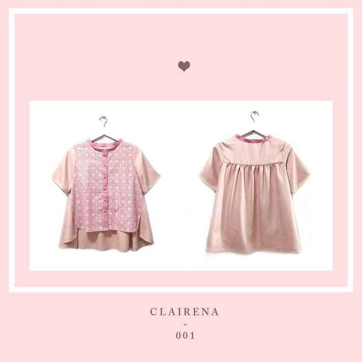 new member for your daily needs ! introducing CLAIRENA . . material : soft linen + handstamped batik cotton IDR 395.000 . . www.nonandnik.com . .  #batik #batikindonesia #fashionindonesia #batikdress #batikblouse #kainbatik #batikmodern #batikcap #modernbatik #batikshop #fashionbatik #batikfashion #ootdbatik #onlineshop #localbrand #localbrandindonesia #readytowear #batiknonik #nonandnik
