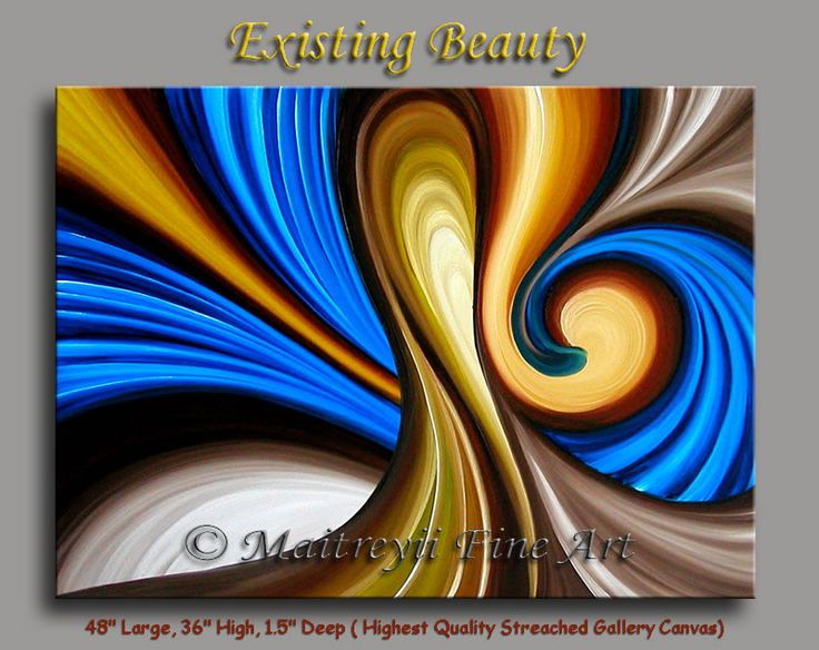 Gallery of original modern and abstract art paintings by Maitreyii ...