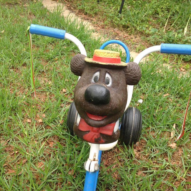 HUMPHREY B BEAR TRICYCLE BIKE RARE COLLECTABLE KIDS METAL TOY 60s 70s VINTAGE TV | eBay