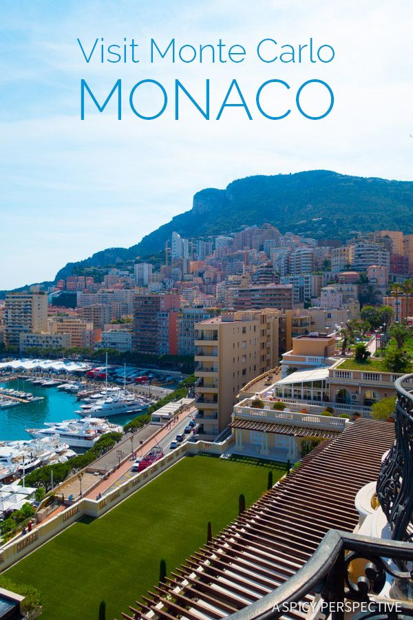 Tips for Visiting Monte Carlo Monaco  on ASpicyPerspective.com #travel #frenchriviera #cotedazur
