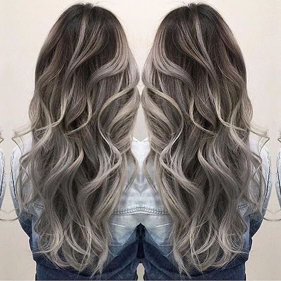 25 unique grey hair extensions ideas on pinterest black grey kinghair 100 premium quality remy clip in hair extensions pmusecretfo Gallery