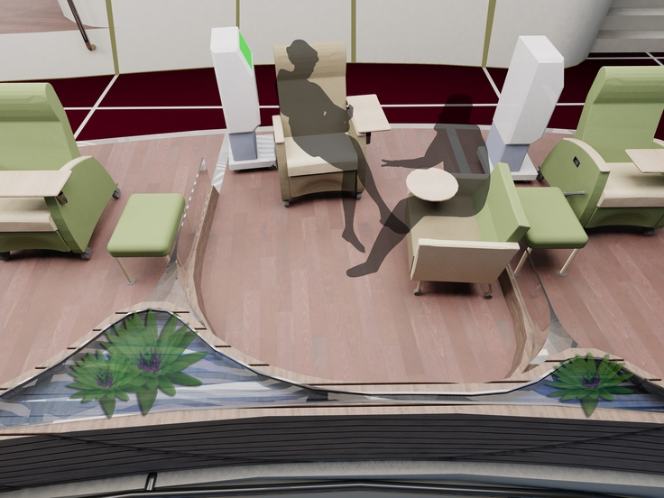 Dialysis Center - Treatment Area
