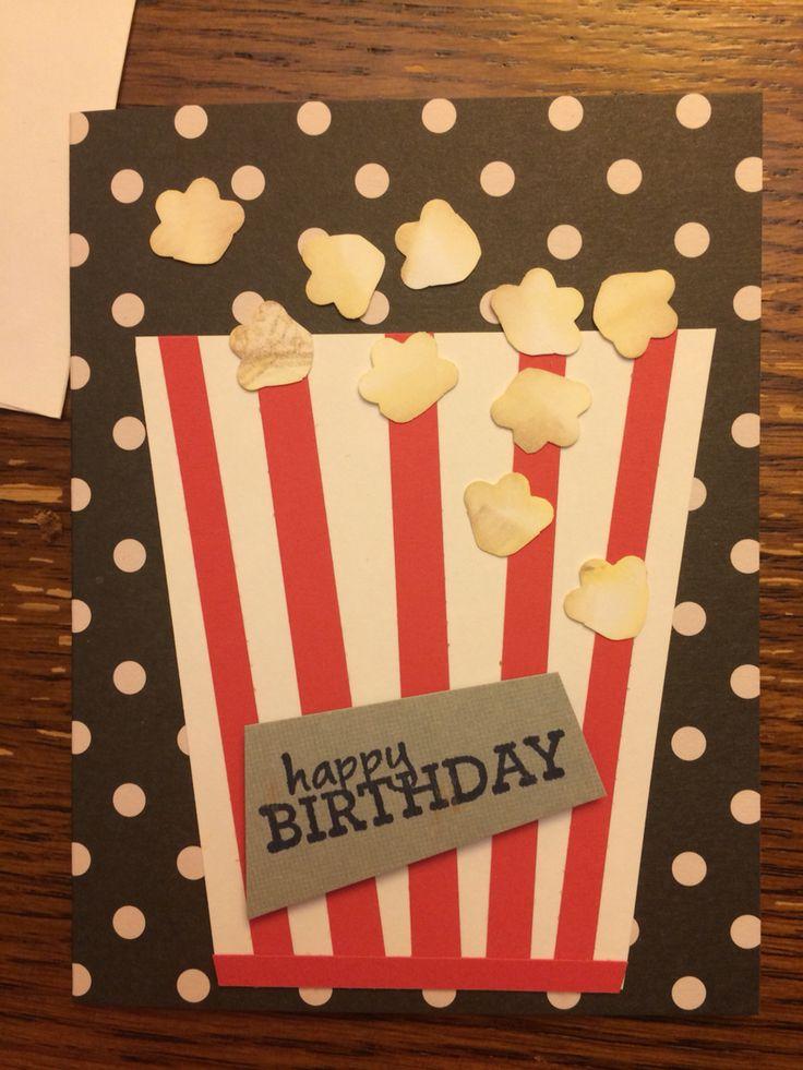 Gianluca & Alessandro birthday card - handmadewithlove