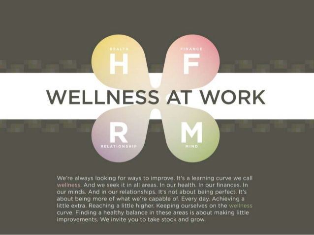 MAQUETA PAGINA INTERIOR / title/text/data - Wellness at Work by O.C. Tanner via slideshare