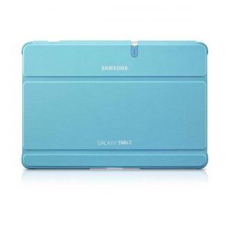 Oryginalne etui do Samsung Galaxy Tab 2 [10.1 cala]. Ochrania i zapewnia wygodę w codziennym użytkowaniu tabletu. Funkcja nachylenia ułatwia pisanie, albo oglądanie filmów i zdjęć, gdziekolwiek jesteś.  Produkt w kolorze jasnoniebieskim.