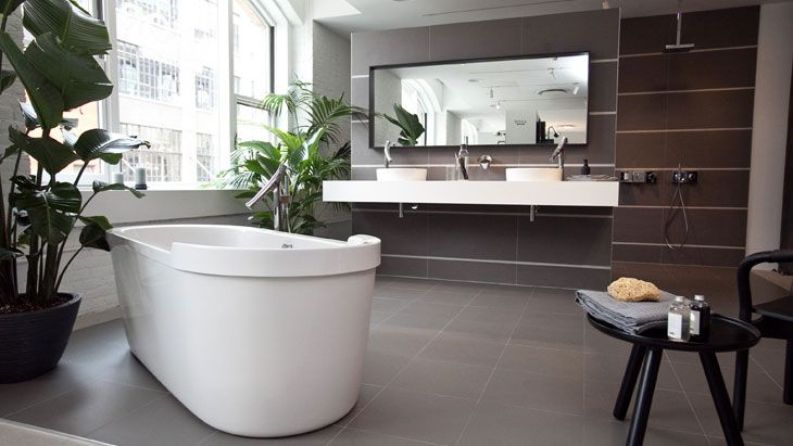 The Axor Starck Organic bathroom collection designed by Philippe Starck.