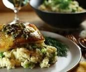 Image result for quinoa risotto with chilean sea bass