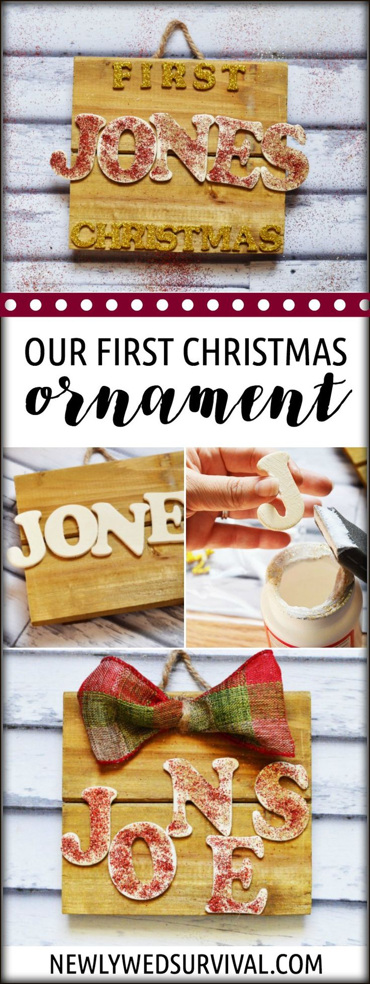 Diy christmas ornaments for newlyweds - Diy Ornament