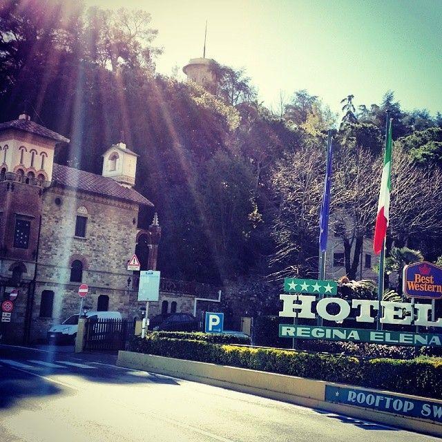 BEST WESTERN Hotel Regina Elena di Santa Margherita Ligure. Photo by @zenaswing