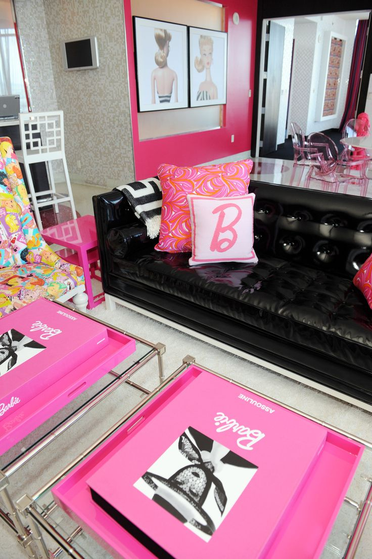 Barbie Suite at the Palms Fantasy Tower in Las Vegas