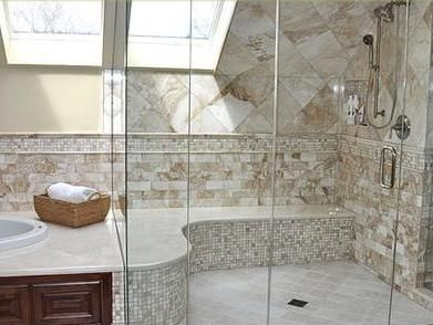 Ba os modernos decoraci n para ba os modernos shower for Murales para banos modernos