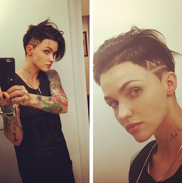 ruby rose style | image via ruby rose new orange is the new black cast member ruby rose ...