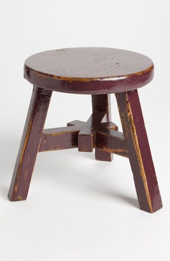 Royola Pacific Designs Small Decorative Wood Stool | Nordstrom
