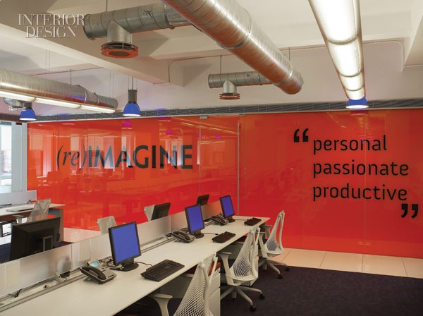 The writing is on the wall: Forrest Solutions Group's New York headquarters by the Spector Group