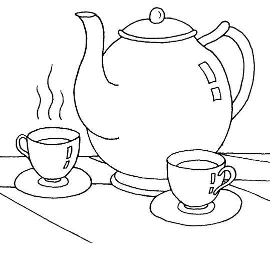 рисунки чайного сервиза предлагаем вам ознакомиться