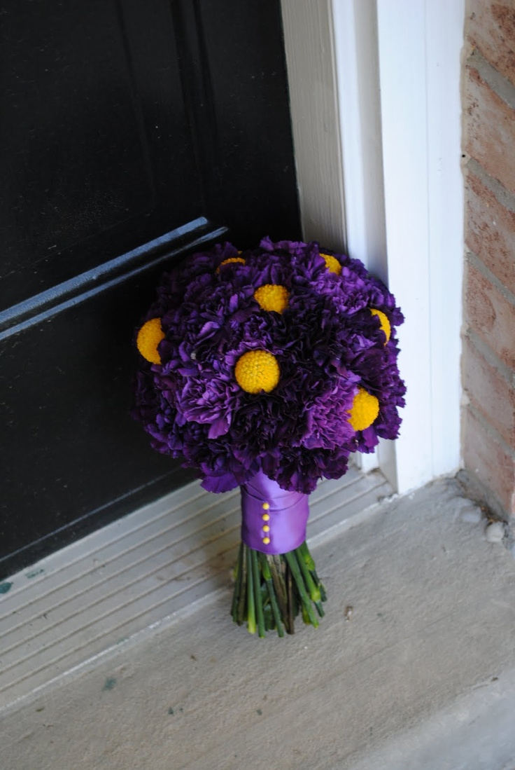 25 best Flowers purple and yellow images on Pinterest | Weddings ...