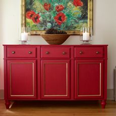 DIY Sideboard... Wonder if this is cheaper than piece of craigslist?