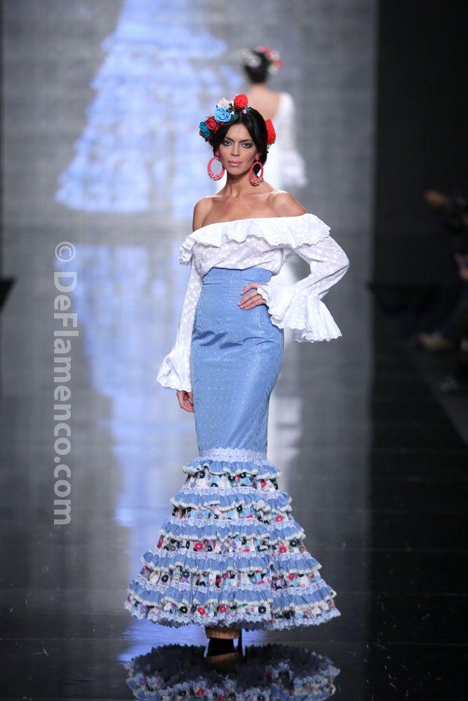 Fotografías Moda Flamenca - Simof 2014 - Atelier Rima 'Lluvia de Flores' Simof 2014 - Foto 03