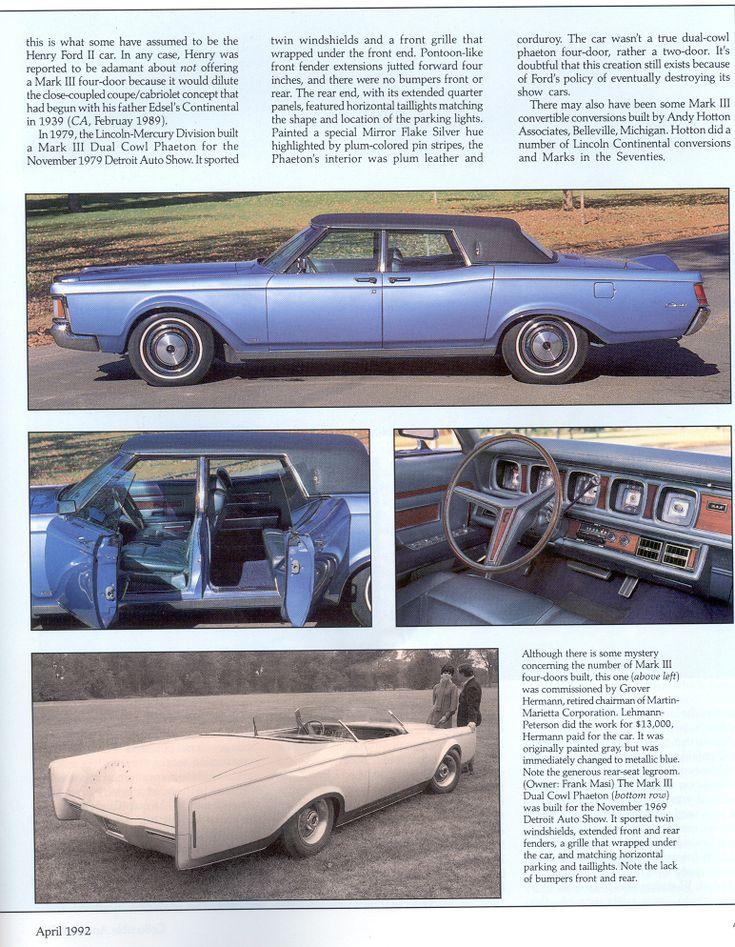 25+ best Lincoln vehicles ideas on Pinterest | Vehicles Crazy cars and Cool cars & 25+ best Lincoln vehicles ideas on Pinterest | Vehicles Crazy ... markmcfarlin.com