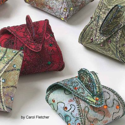 In case you missed it . . . Here's one of our favorite small quilt projects, Little Treasures. Oh the possibilities! Free project.