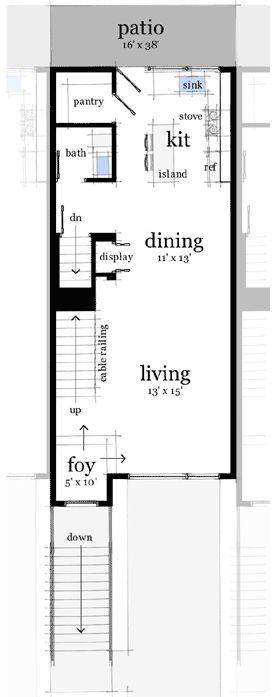 181 Best Tiny House Blueprints Studio/Loft Images On Pinterest
