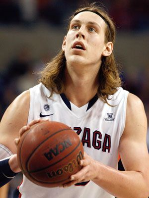 Kelly Olynyk, Basketball Player for Gonzaga University #HottestCollegeAthletes #17MarchMadness
