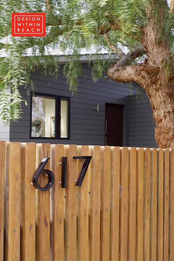 Neutra Modern House Numbers Eames House Modern House Number