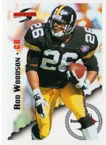 "PITTSBURGH STEELERS - Rod Woodson #6 ""SCORE 95"""